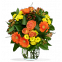 Bouquet valée ambrée
