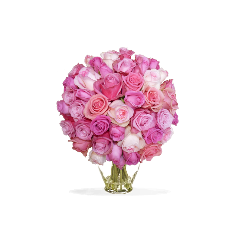 Bouquet de roses lilas rose for Envoyer bouquet
