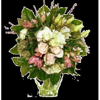 Bouquets de fleurs entre 30 et 40 lilas rose for Bouquet de fleurs 30 euros