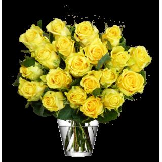 Botte roses jaunes