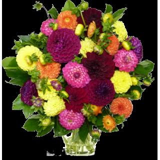 Bouquet Automne Arlequin