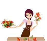 Bouquets de fleurs confectionnés l'après-midi dans nos ateliers
