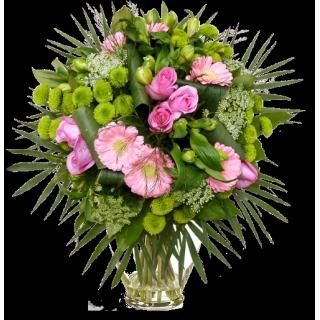 Bouquet clos romantique