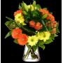 Bouquet Chaleureuses Pensées
