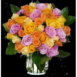 Bouquet Roses de loire