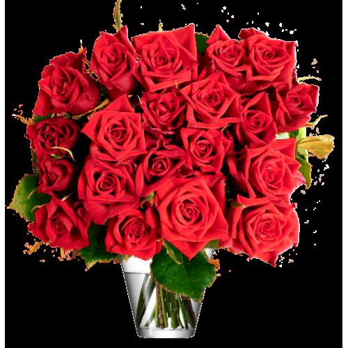Botte roses rouges