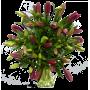 Bouquet Lys asiatique rouge