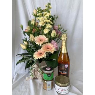 Coffret «Fleurs de gourmandises» Produit en Anjou